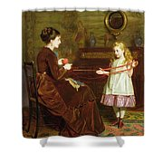 Mothers Little Helper Shower Curtain