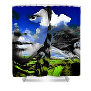 Mother's Nature Shower Curtain