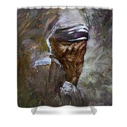 Mother's Pain Shower Curtain