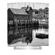 Motif 1 - Bw Shower Curtain