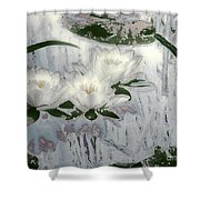 Motif Japonica No. 1 Shower Curtain