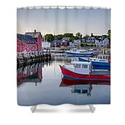 Motif Number 1 Shower Curtain