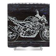 Moto Art 41 Shower Curtain