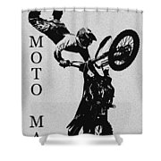 Moto Man Shower Curtain