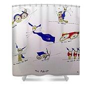 Motogp Shower Curtain