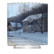 Motor Mill Inn And Livery Shower Curtain