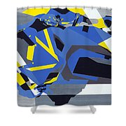 Motorbike 1 Shower Curtain