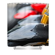 Motorbikes Shower Curtain