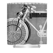 Motorcycle, 1898 Shower Curtain