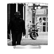 Motorcycle Diaries  Shower Curtain
