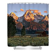 Moulton Barn 2 Shower Curtain