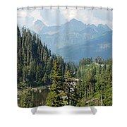 Mount Baker Area Washington Shower Curtain