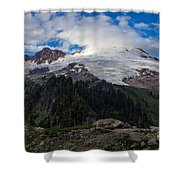 Mount Baker View Shower Curtain
