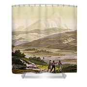 Mount Cayambe, Ecuador, From Le Costume Shower Curtain