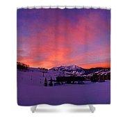 Mount Crested Butte 2 Shower Curtain
