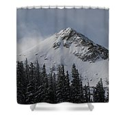 Mount Crested Butte 3 Shower Curtain