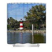 Mount Dora Lighthouse Shower Curtain