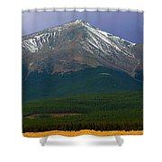 Mount Elbert Shower Curtain