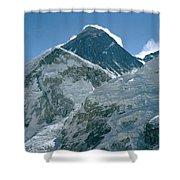 Mount Everest Morning Shower Curtain