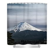 Mount Fuji Japan Shower Curtain