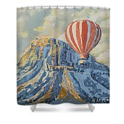 Mount Garfield  Shower Curtain
