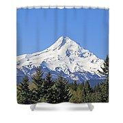 Mount Hood Mountain Oregon Shower Curtain by Jennie Marie Schell