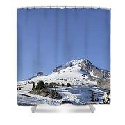 Mount Hood Oregon Panorama Shower Curtain