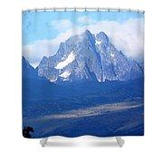 Mount Kenya Shower Curtain