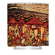 Mount Kilimanjaro Shower Curtain