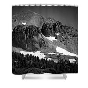 Mount Lassen Shower Curtain