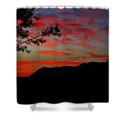 Mount Lee  Shower Curtain