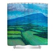 Mount Leinster Ireland Shower Curtain