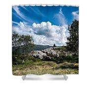 Mount Lovstakken Shower Curtain