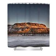 Mount Mckay Shower Curtain