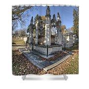 Mount Mora Cemetery 2 Shower Curtain