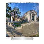 Mount Mora Cemetery 3 Shower Curtain
