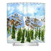 Mount Ogden Shower Curtain