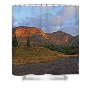 Mount Owen Sunrise Shower Curtain