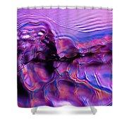 Mount Purple Shower Curtain