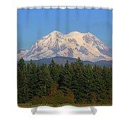 Mount Rainier Washington Shower Curtain
