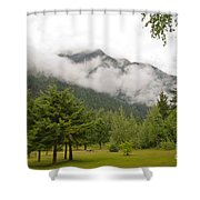 Mount Robson Provincial Park Shower Curtain