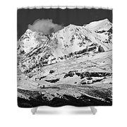 Mount Ruapehu Shower Curtain