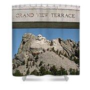 Mount Rushmore 3 Shower Curtain