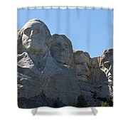 Mount Rushmore National Monument Shower Curtain