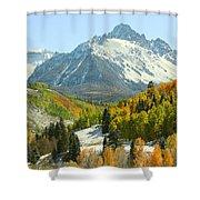 Mount Sneffels In Ridgway Colorado Shower Curtain