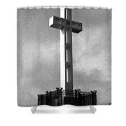 Mount Soledad Cross 2 Shower Curtain