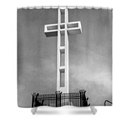 Mount Soledad Cross Shower Curtain