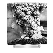 Mount St Helens Eruption Shower Curtain