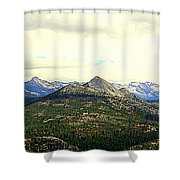 Mount Starr King Shower Curtain