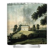 Mount Vernon, 1806 Shower Curtain